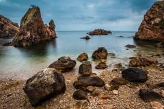 Guincho Velho (marco_raposo) Tags: blue seascape beach portugal water canon rocks lisbon sintra wide mygearandme mygearandmepremium mygearandmebronze mygearandmesilver mygearandmegold