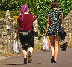 BootsAndSlipOns (Hodd1350) Tags: walking boots dorset mauve bags stonewalls carrying shaftesbury drmartins tamronlens sonya77
