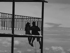 (Wilfrido Bolivar) Tags: bw black love silhouette silueta