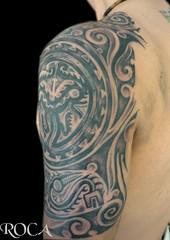 CULTURA COCLE (roca tattoo studio) Tags: art tattoo arte maya panama cultura roca tatuaje prehispanic cocle azteca prehispanico