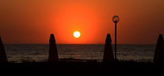 Sunset Kuadas (Adam Peddie Photography) Tags: ocean sunset sea sun silhouette turkey turkiye aegean kuadas peddie