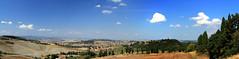 07.09.2013 - MONTICHIELLO - PIENZA - PANORAMA 1 (marcocorradi56) Tags: montichiello toscana tuskany italia italy siena tuscany panorama landscape