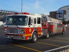 PFD Ladder 24 (Aaron Mott) Tags: philadelphia fire alf firetruck philly ladder firedept firedepartment tiller pfd americanlafrance lti fireapparatus phillyfire philadelphiafire laddertowersinc phiadelphiafire firetruckpfd
