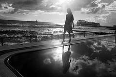 _ (Lyuba Burakova) Tags: sea bw film skyline analog 35mm blackwhite element vision:night=050 vision:beach=056