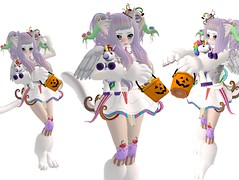 Sweet Little Halloween Monster (SerenitySemple) Tags: halloween fashion furry sl kawaii gacha exclusives candyfair