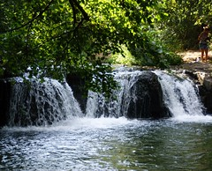 Cascate di Monte Gelato (Birnardo) Tags: italia fiume acqua viterbo lazio cascate calcata valledeltreja