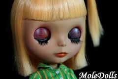 Custom Neo Blythe N.72 by MoleDolls