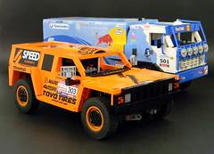 Dakar set (LegoMarat) Tags: