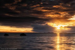 Lake Holtson (aland67) Tags: longexposure sunset mountain lake seascape water clouds landscape iceland rocks sunbeam goldenhour leend09hard alanddewit holtson