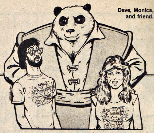 "A DISTANT SOIL # 9 :: ""BEAR FACTS: The People Behind the Pandas"" ii // Panda Khan & pals isolated  (( 1986 ))"
