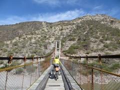 Crossing the Rio Pampas