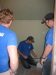 Interior @ Roger A.'s House (Rebuild Joplin) Tags: farmers rogera rebuildjoplin solidrockcarpenters
