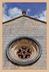 detalle de rosetn (clover2500) Tags: ro de lobos soria cisterciense caon ermitas ermitadesanbartolome