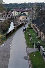Canon EOS 30 - River Bank of Svitava River (taken from the railway bridge) (Kojotisko) Tags: canoneos30 brno cc creativecommons czechrepublic superiaxtra400