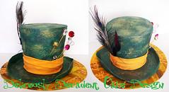 madhatters hat (Deliciously Decadent (Taya)) Tags: hat cake design alice mad depp wonderland madhatter johny hatter decadent madhatters hatters deliciously deliciouslydecadentcakedesign
