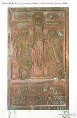 Edmondo Prati Per i genitori Cimitero di Caldonazzo Bronzo 1951