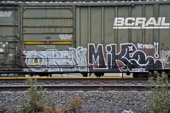 OPEN - (Mighty) MIKE (dim9th) Tags: seattle mike graffiti mightymike