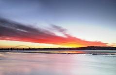 Mersey Estuary (Jeffpmcdonald) Tags: widnes rivermersey halebank runcornwidnesbridge pickeringspasture nikond7000 jeffpmcdonald jan2014