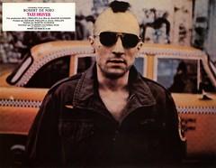 Robert De Niro Taxi Driver - 2000 (Museum of Cinema) Tags: sunglasses taxi actor travisbickle taxidriver martinscorsese 1976 scorsese deniro robertdeniro lobbycard frenchlobbycard taxidriver1976 cannes1976 scorseseexhibit