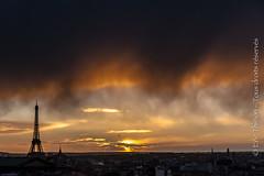 PARIS fvrier 2014 Coucher Soleil avec Sandra Chenu Godefroy (Thirion Eric) Tags: paris de soleil tour coucher effeil