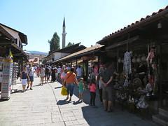 Winkelstraatje oude stad