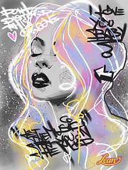 038473-Lean13 (LeanThirteen) Tags: portrait woman streetart hot cute sexy art girl face illustration ink sketch video cool pretty artist drawing chick illustrator process tutorial ericanthonyjohnson lean13 leanthirteen