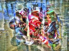 Coke Dreams (Robert Cowlishaw (Mertonian)) Tags: red abstract green robert canon silver sprite coke diet cowlishaw mertonian sx50hs canonsx50hs cokedreams monkofthewestdesertcom