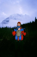 Ben Grey Garfield (joeball) Tags: camping snow film forest 35mm river weekend fork national february superbowl middle superia400 yashica snoqualmie 2014 middleforksnoqualmie t4super 12monthsofcamping