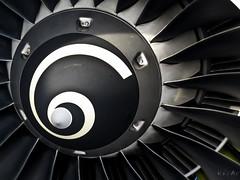 Airbus A-319 fans (kov-A-c) Tags: black sunshine plane canon turkey airplane design engine aeroplane airbus fans ge departure a319 turbofan turkishairlines cfmi highbypassturbofanaircraftengine