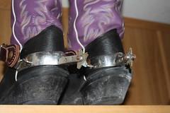 BOOTS N SPURS (AZ CHAPS) Tags: ranch spurs cowboy boots