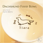 "Dachshund Food Bowl <a style=""margin-left:10px; font-size:0.8em;"" href=""http://www.flickr.com/photos/94066595@N05/13690572223/"" target=""_blank"">@flickr</a>"