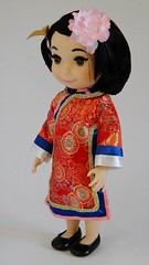 ''it's a small world'' China Singing Doll - 16'' - US Disney Store Purchase - First Look - Deboxed - Standing - Full Right Front View (drj1828) Tags: china standing us release purchase itsasmallworld disneystore firstlook 2014 productinformation deboxed disneyanimatorscollection