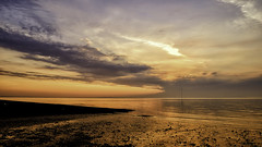 Whitstable at Sunset (MikeMey67) Tags: sunset sea view whitstable