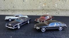 1973-1984 Continental Mark Series (JCarnutz) Tags: mark continental 1984 neo 1978 1980 1973 143scale resincast premiumx