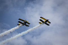 Roll Out 2014 (Ralph Welin) Tags: show summer plane canon out airplane shoe eos fly flying cloudy sweden aviation air sunny airshow roll sverige ralph vsters 6d 2014 welin vstmanlandsln rolluot