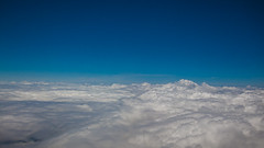 blue sky clouds inflight cumulus aerialphotography canonphotography colorfulworld flickrelite cmwdblue powershots95