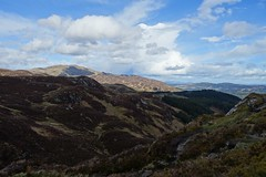 view from Ben A'an (Sean Munson) Tags: mountain mountains landscape scotland highlands hiking trossachs scottishhighlands queenelizabethforestpark benaan