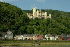 Stolzenfels Castle (nrparsons) Tags: building castle architecture river germany town riverside sigma medieval structure german riverfront riverbank schloss rhine 18200 burg koblenz mediaeval stolzenfels middlerhine