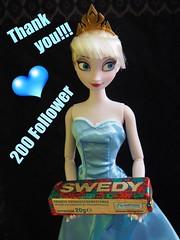 THANK YOU!!! <3 (sh0pi) Tags: frozen doll you disney thank elsa disneystore puppe coronation follower dankeschn eisknigin swedy
