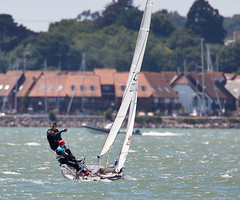 Yacht (Bernie Condon) Tags: sea water sport boat sailing wind yacht solent sail southampton yachting