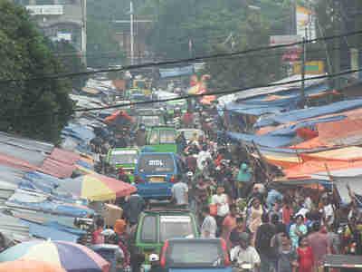Penertiban Pedagang Kaki Lima Pasar Anyar