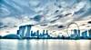 City Skyline (clemontz) Tags: nikon singapore 1750 tamron hdr d300 marinabay