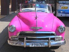 Cuban taxi (mujepa) Tags: pink classic chevrolet car automobile taxi havana cuba convertible voiture chevy dcapotable lahavane