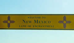 Welcome to New Mexico... (Nicholas Eckhart) Tags: america us usa newmexico nm interstate40 i40 interstate 40 sign welcometonewmexico