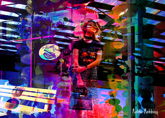 Just Standing Here (brillianthues) Tags: colorful collage abstract photography photmanuplation photoshop