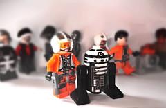 R2-X2 (OB1 KnoB) Tags: lego star wars r2x2 astromech droid custom minifigure category contest 2017 bxcustoms