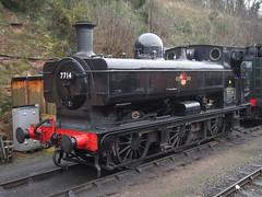 IMG_4099 - GWR 57XX Pannier 7714 (SVREnthusiast) Tags: severnvalleyrailway svr severnvalley severn valley railway