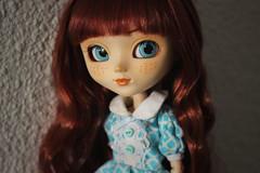 Addaura (Naekolyset) Tags: pullip pullips doll pullipdoll redhead blueeyes freckles pullipanneshirley anneshirley pullipanneshirley2004 portrait cute girl love her much