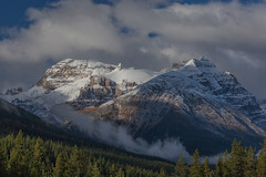 Fresh Dusting (jim peterson2012) Tags: canadianrockies yohonationalpark