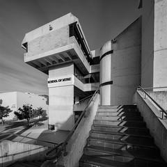 Canberra School of Music (Chimay Bleue) Tags: brutalism brutalist design new modern modernism modernist architecture concrete australia australian midcentury